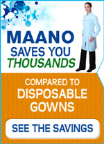 Maano Dental Gowns savings